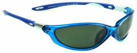 Zobrazit detail - Polarizační brýle WITHGO 4007 zelené čočky modrá obruba Cat.3