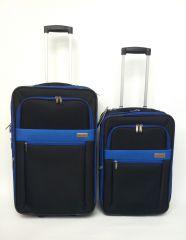Cestovních kufr D&N  malý blue 9300