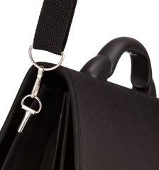 Aktovka REAbags 7416-T - černá-textil E-batoh