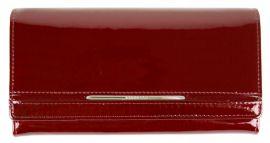 Dámská kožená peněženka v krabičce Cossroll 02-5242-1 karmínově červená