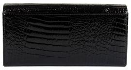 Dámská kožená peněženka v krabičce Cossroll 02-5242-2 černá E-batoh