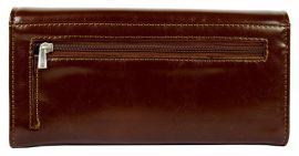 Hnědá dámská peněženka Cossroll B43-5242F-14 E-batoh