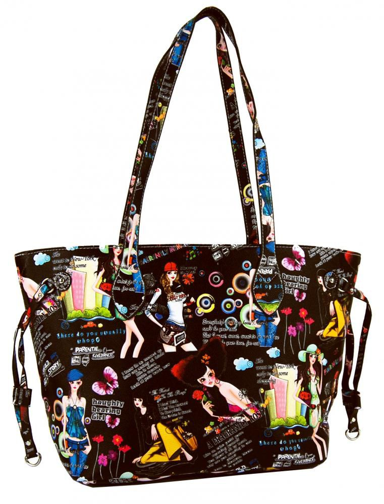 Ležérní kabelka na rameno Z005 tmavá hnědá Tapple E-batoh