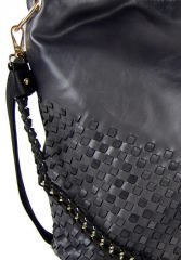 Kombinovaná dámská kabelka Tapple 3091 černá E-batoh