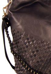 Unikátní kombinovaná kabelka Tapple 3091 kávová hnědá E-batoh