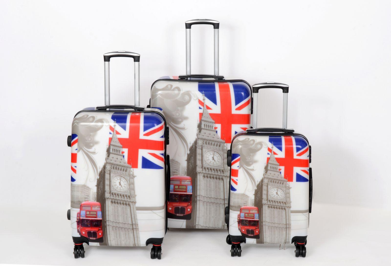 Cestovní kufry sada ABS BRITÁNIE TR-A29E