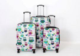 Cestovní kufry sada 3 ks ABS SOVIČKY TR-A29E