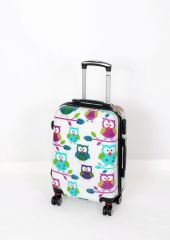 Cestovní kufr ABS SOVIČKY TR-A29EN malý S E-batoh