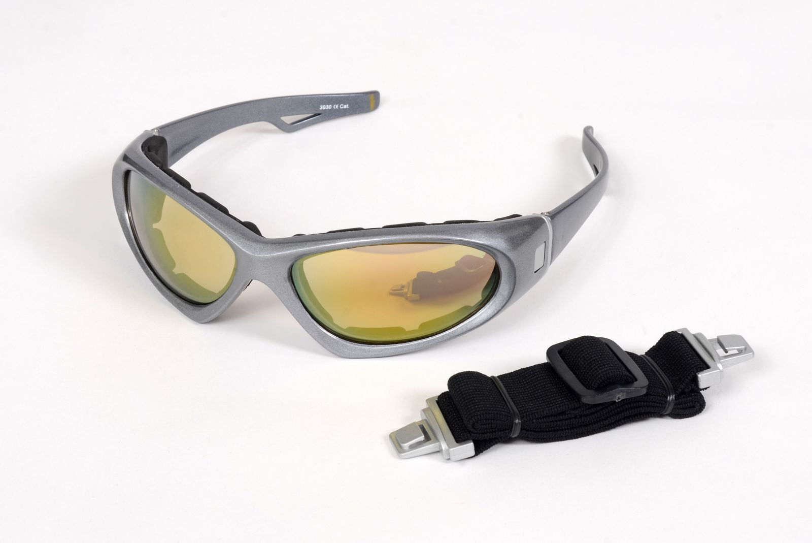 Sportovní brýle na kolo, snowboard a lyžování silver