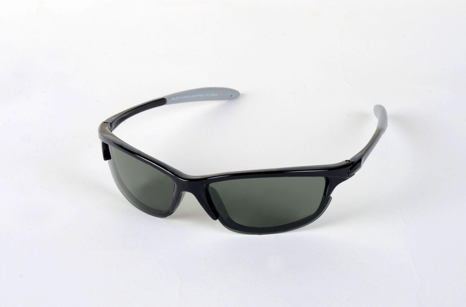 Polarizační brýle 4021 zelené čočky Cat.3 E-batoh