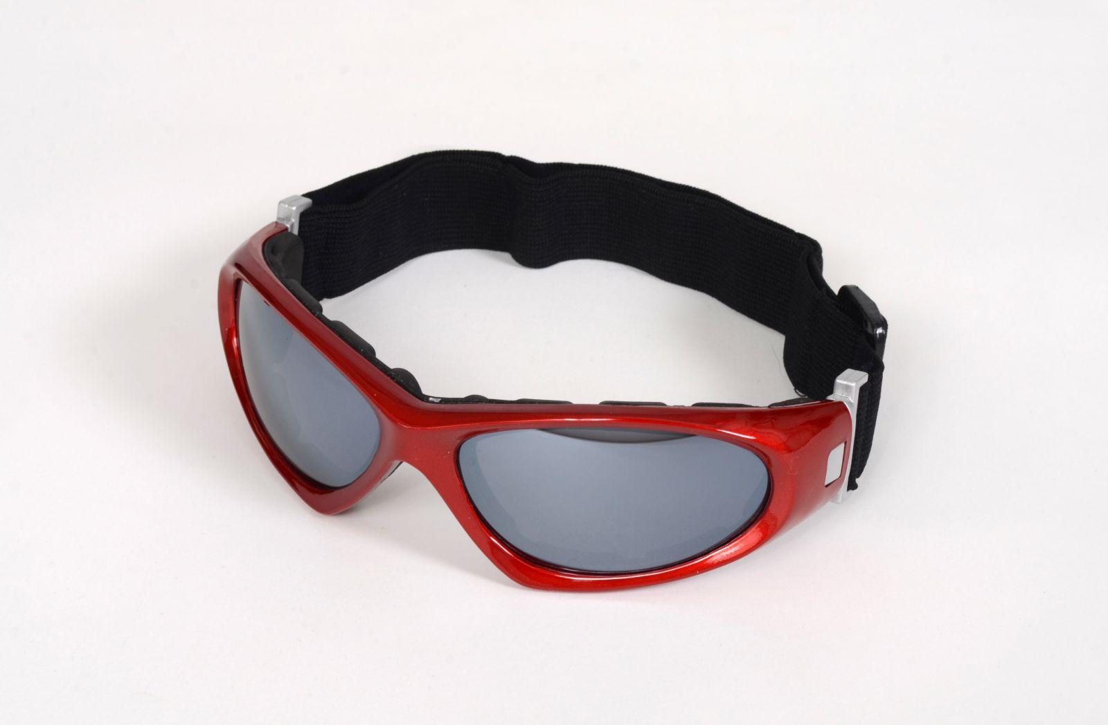 Sportovní brýle na kolo, snowboard a lyžování červené