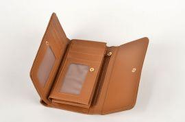 Dámská peněženka DUOLIN v krabičce M044 hnědá E-batoh