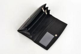 Dámská kožená peněženka Newberry 848 černá E-batoh