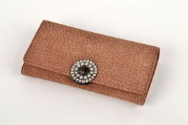 Dámská peněženka DUOLIN v krabičce M062 hnědá