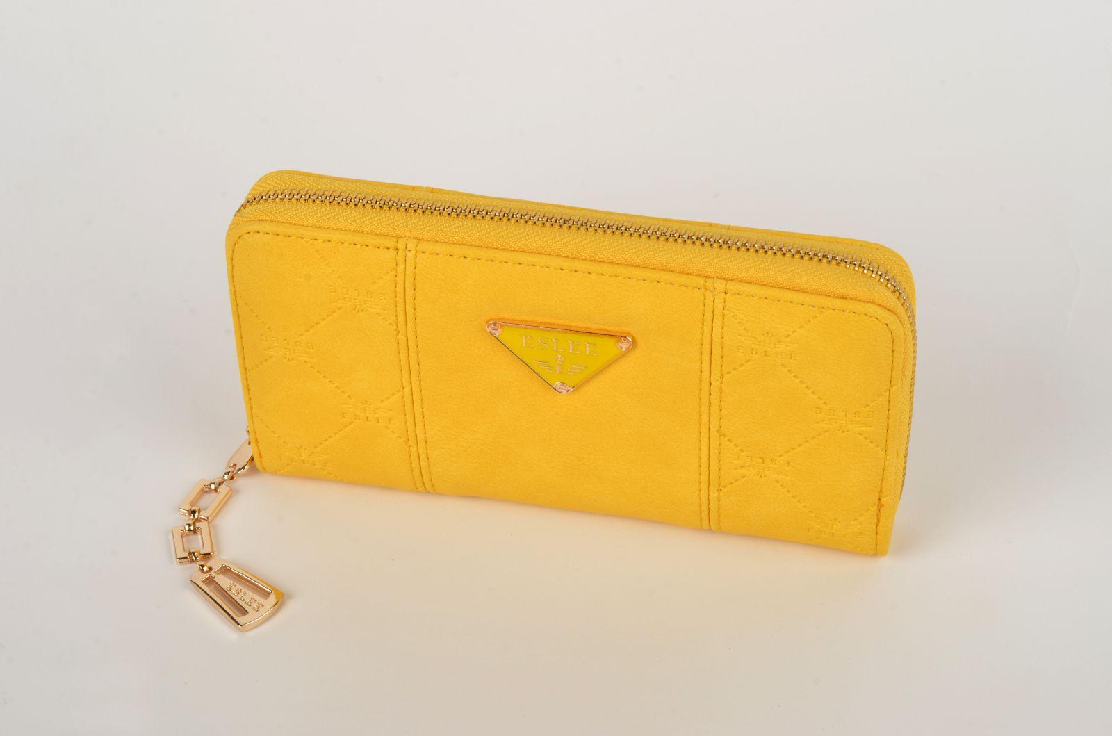 Dámská peněženka ESLEE 6188 yellow E-batoh