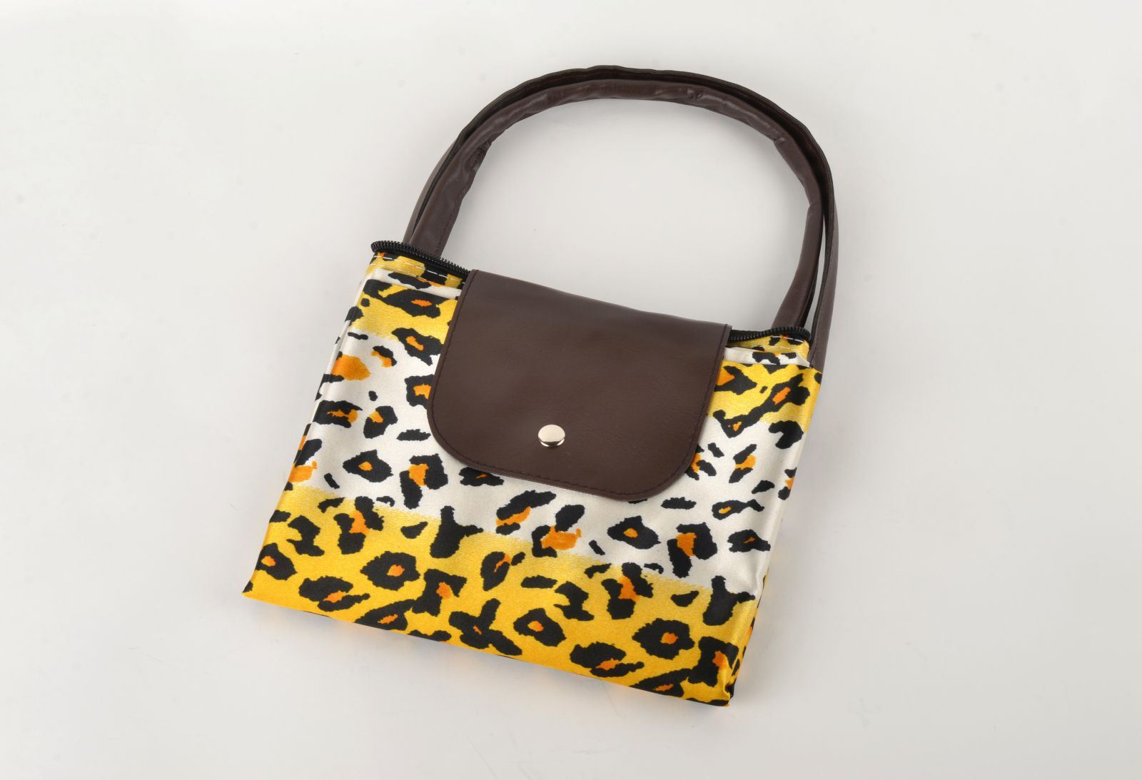 Nákupní skládací taška žlutá
