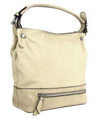 Velká kabelka na rameno TH2032 béžová NEW BERRY E-batoh