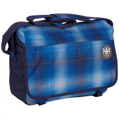 Chiemsee Shoulderbag large S16 Plaid regatta