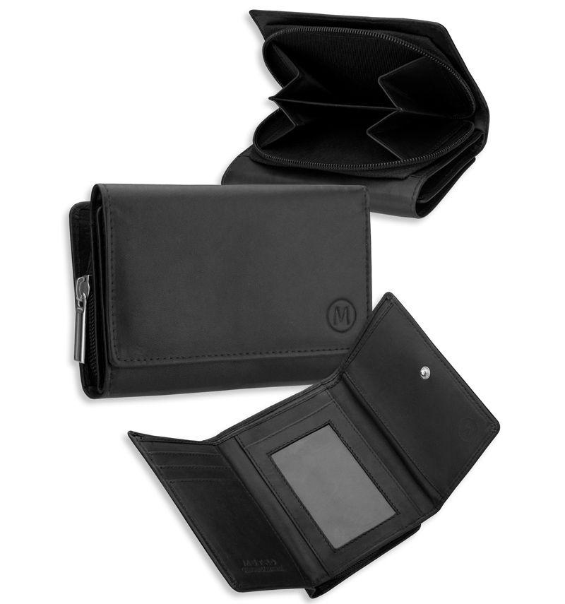 Dámská kožená peněženka METRO P05 - hnědá