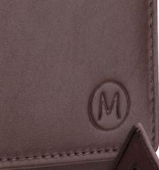 Dámská kožená peněženka METRO P05 - hnědá E-batoh
