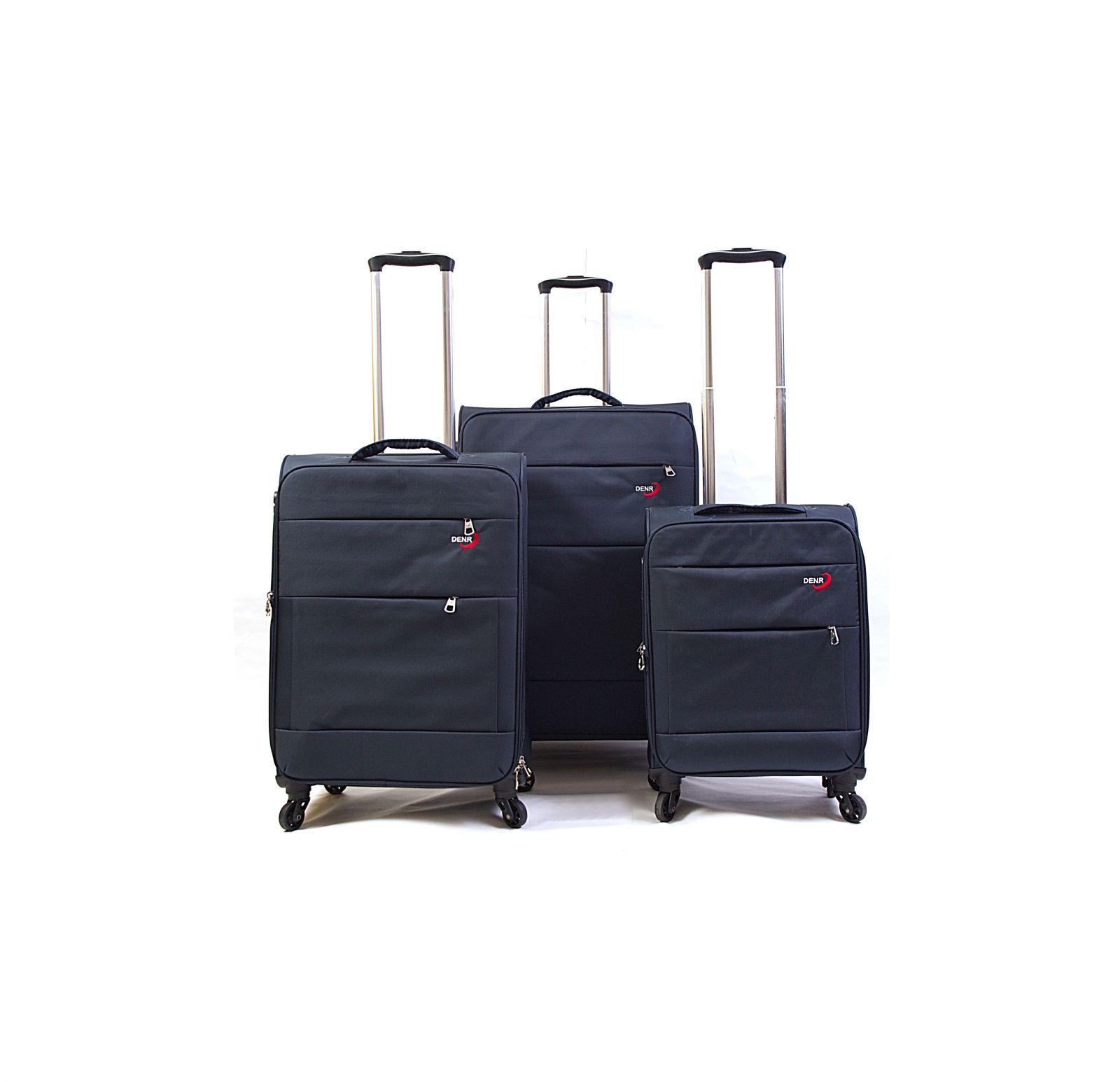 Trolley-CASE TC-883 4w sada 3 kufru modrý