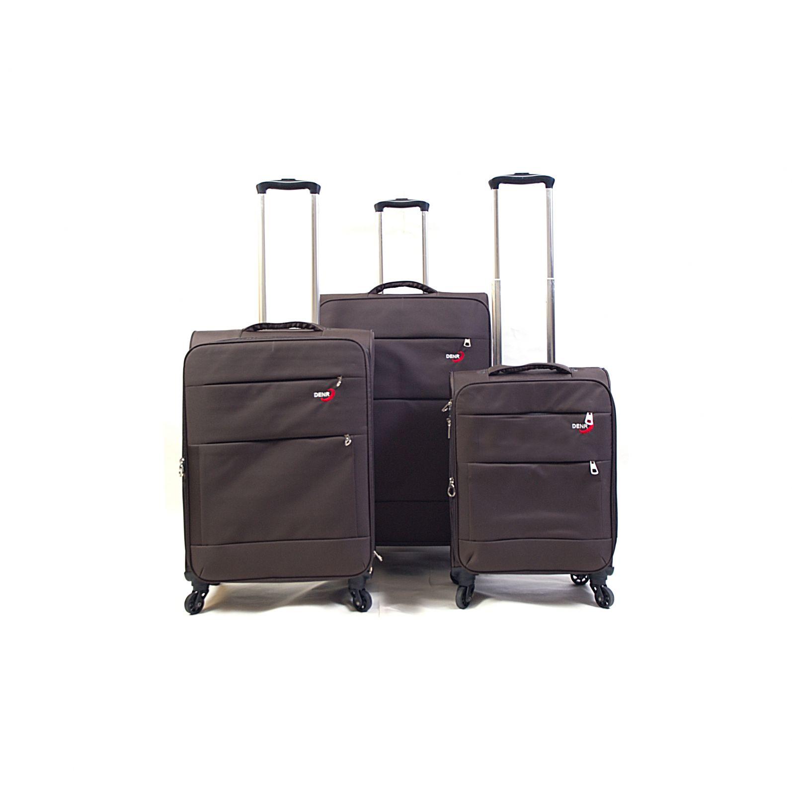 Trolley-CASE TC-883 4w sada 3 kufru hnedé