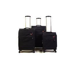 Trolley-CASE TC-883 4w sada 3 kufru černá