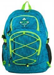 Velký batoh NEWBERRY do města / do školy HL0911 aqua modrá