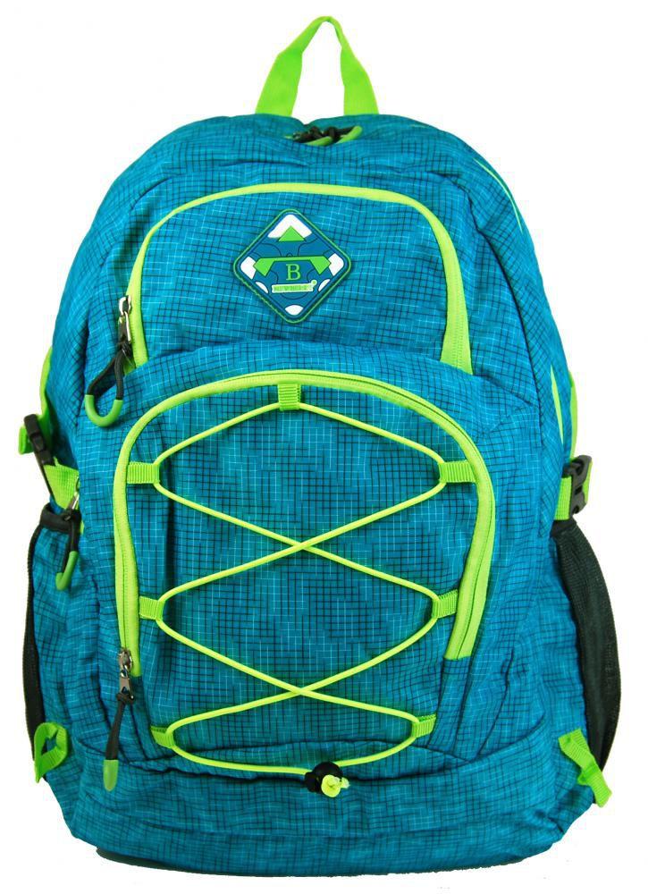 NB:HL0911 AQUA BLUE   Velký batoh NEWBERRY do města / do školy HL0911 aqua modrá