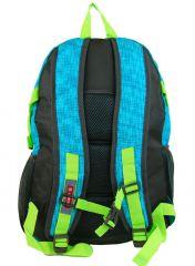 Velký batoh NEWBERRY do města / do školy HL0911 aqua modrá NEW BERRY E-batoh
