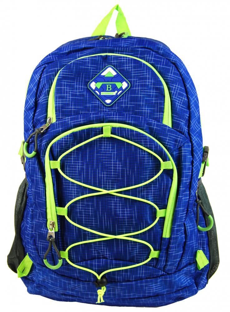 NB:HL0911 BLUE   Velký batoh NEWBERRY do města / do školy HL0911 modrá