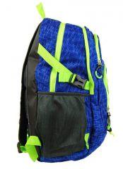 Velký batoh NEWBERRY do města / do školy HL0911 modrá NEW BERRY E-batoh