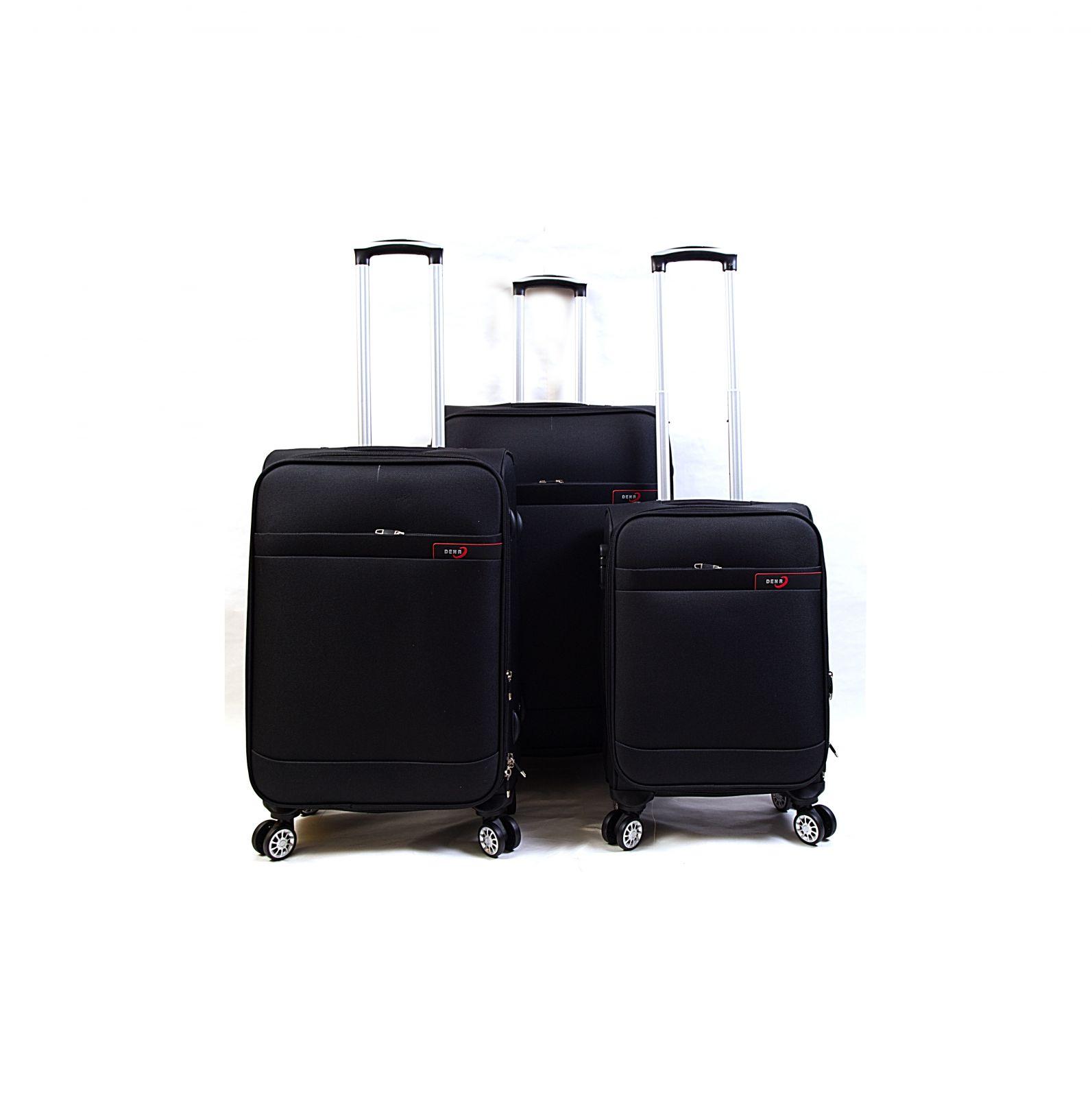 Trolley-CASE TC-882 4w sada 3 kufru černý E-batoh