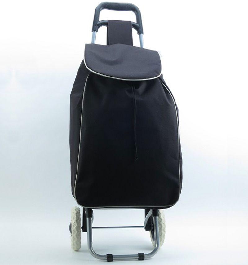 Nákupní taška na kolečkách METRO ST-004 - černá