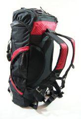 Cestovní KROSNA - ROLAN CB-56 70l červená E-batoh