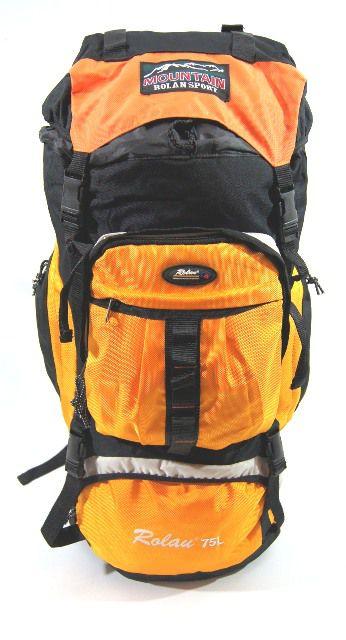 Cestovní KROSNA - ROLAN CB-56 70l žlutá, batoh na hory E-batoh