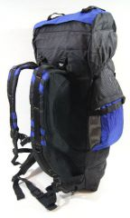 Cestovní KROSNA - ROLAN CB-903 85L modrá E-batoh