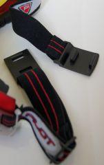 Zimní brýle na snowboard a lyžovaní PILOT červené E-batoh