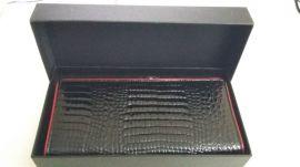 Dámská kožená peněženka v krabičce HASSION A-00383 COFFEE E-batoh