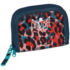 Chiemsee Twin zip wallet W16 Mega flow blue