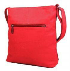 Elegantní prošívaná crossbody kabelka YH1601 červená New Berry E-batoh