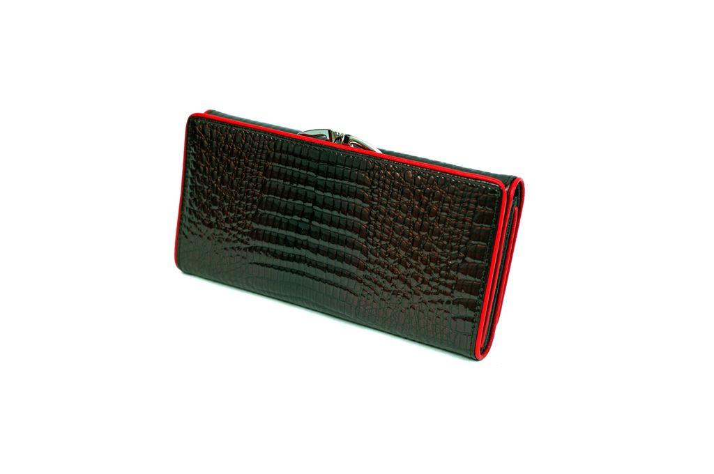 Dámská kožená peněženka v krabičce HASSION A-00383 COFFEE