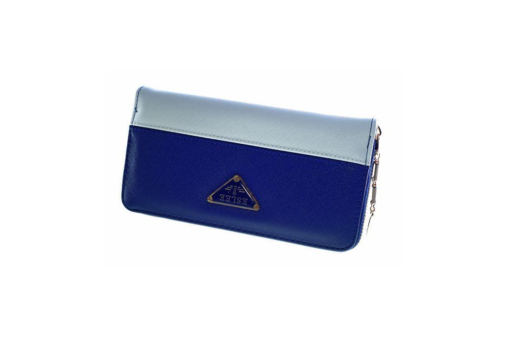 Dámská peněženka ESLEE 6239 BLUE&WHITE