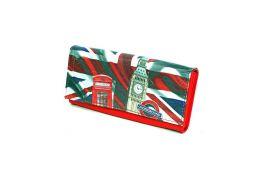 Dámská peněženka LONDON červená