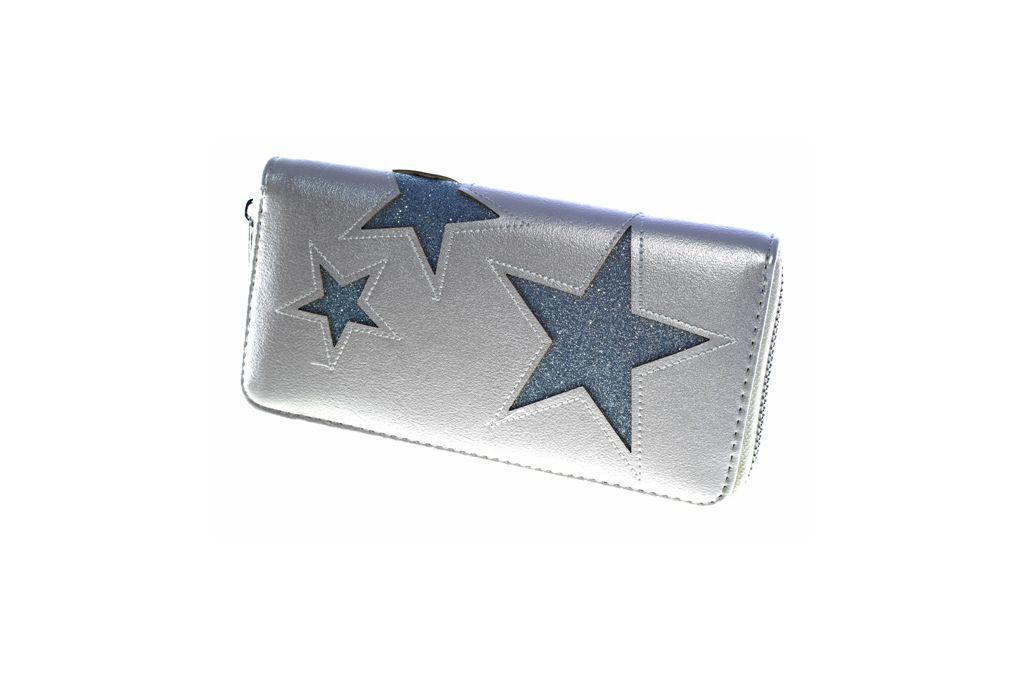 Dámská peněženka STARS bežová/silver