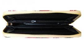 Moderní peněženka s motivem Paříže T519 béžová NEW BERRY E-batoh