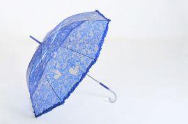 Designový průhledný deštník P0018