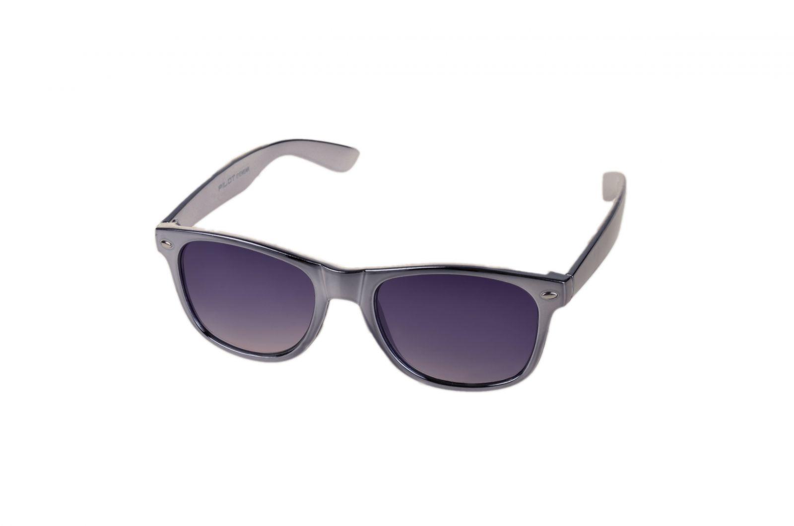 Sluneční brýle AM61011 CAT.3 stříbrné