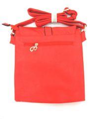 Crossbody kabelka barva Červená E-batoh