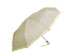 Skládací deštník SUSINO bílá/černá E-batoh